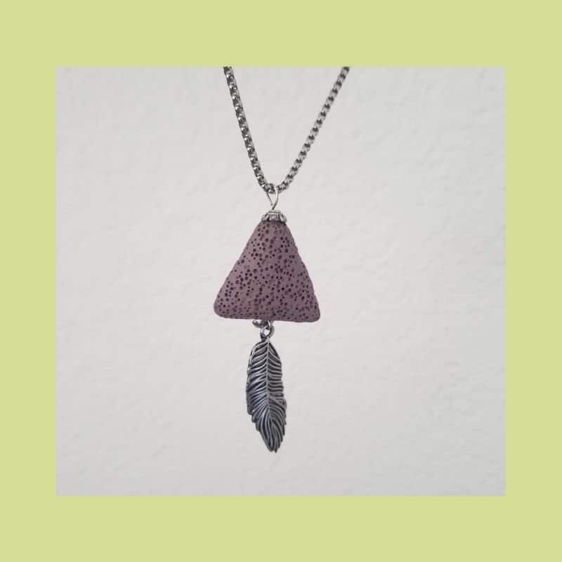 essential oil jewelry necklace